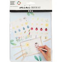 Mini Creative Kit, insecten, 1 set