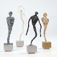 Silk Clay beelden op standaard