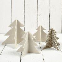 Kerstbomen van vilt