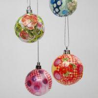 Plastic Kerstballen