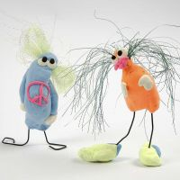 Amusante creaties van Silk Clay