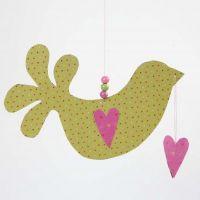 Vogel van papier van Vivi Gade Design