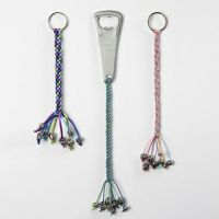 Kumihimo hangers voor flesopeners en sleutelhangers