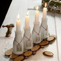 Kaarsen display voor advent