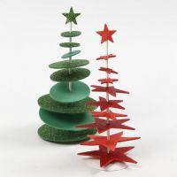 Foam kerstboom op staander