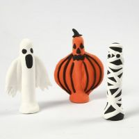 Silk Clay figuren voor Halloween
