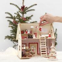 Het huis van de Kerstman