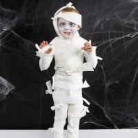 Verkleed als mummy voor Halloween