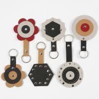 Faux Leather Papier voor Sleutelhangers