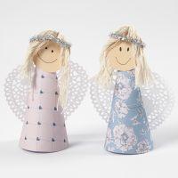 Engelen gemaakt met een kegellijf