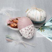 Tweedelig ei met deco folie
