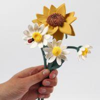 Boetseer bloemen van Silk Clay