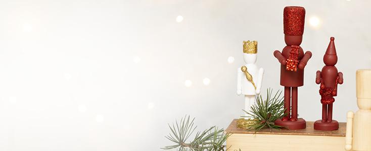Kerstdecoraties met de Notenkraker