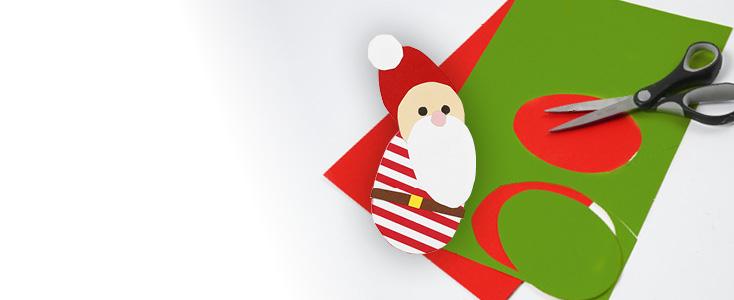 Kerstdecoraties met Sjablonen