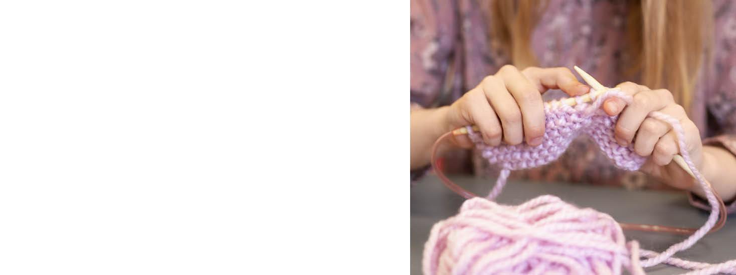 Naaien en breien voor kinderen
